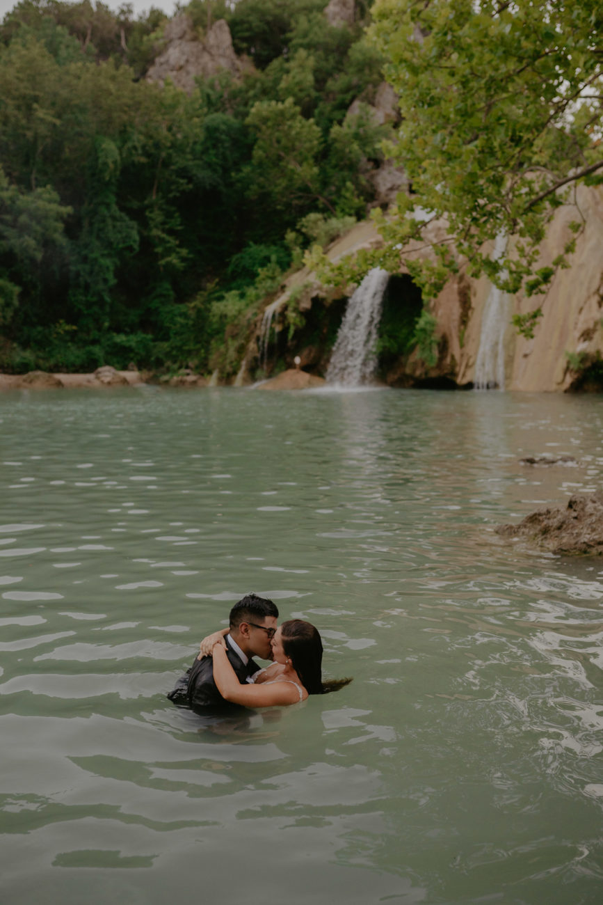 bride-and-groom-day-after-session-trash-the-dress-turner-falls-oklahoma-water