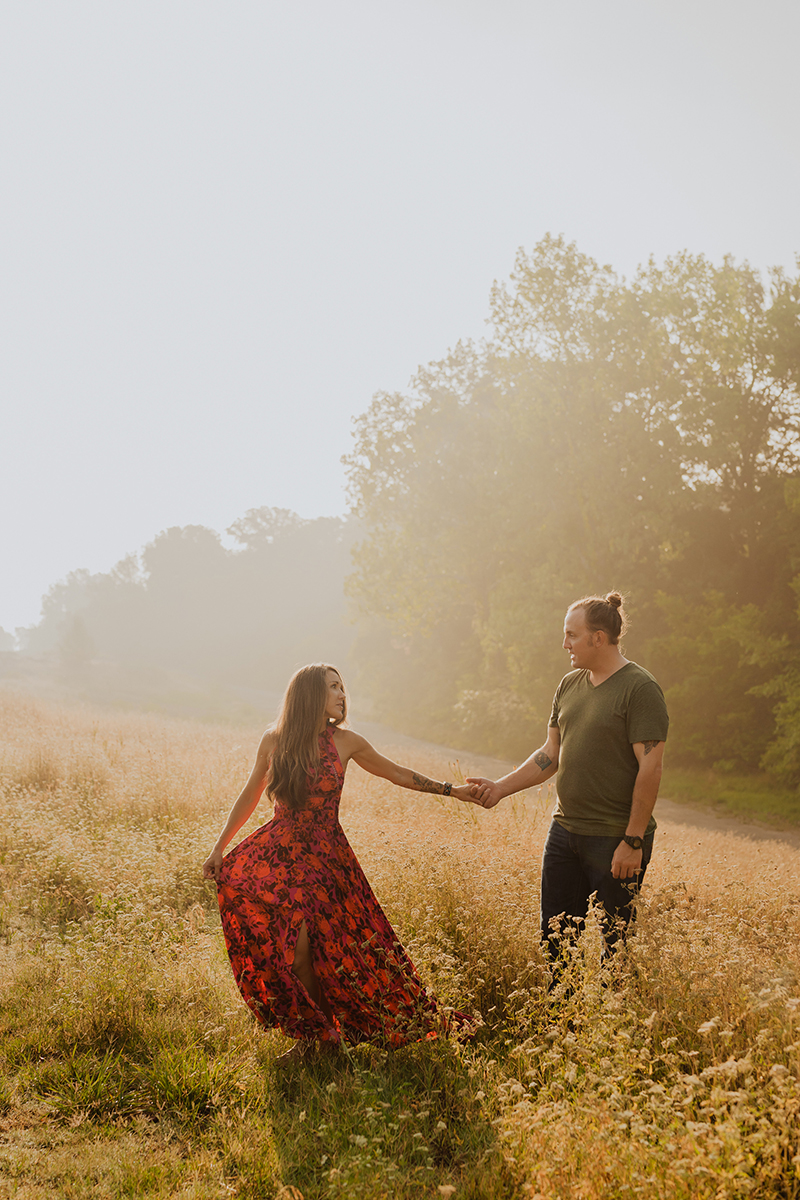 Chandler-Park-Engagement-Photo-Sunrise-Fog-Tulsa-Wedding-Photographer