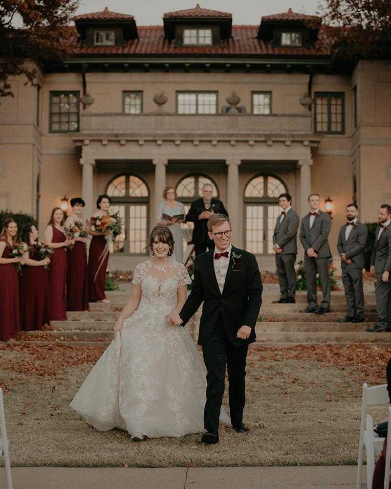 The Mansion At Woodward Park Fall Wedding Tulsa Photographer