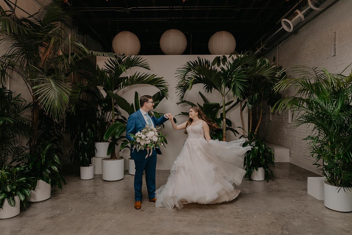 The-Canopy-Tulsa-Wedding-Venue-Industrial-Tropical-Plants-Tulsa-Wedding-Photographer-Jordan-Taylor