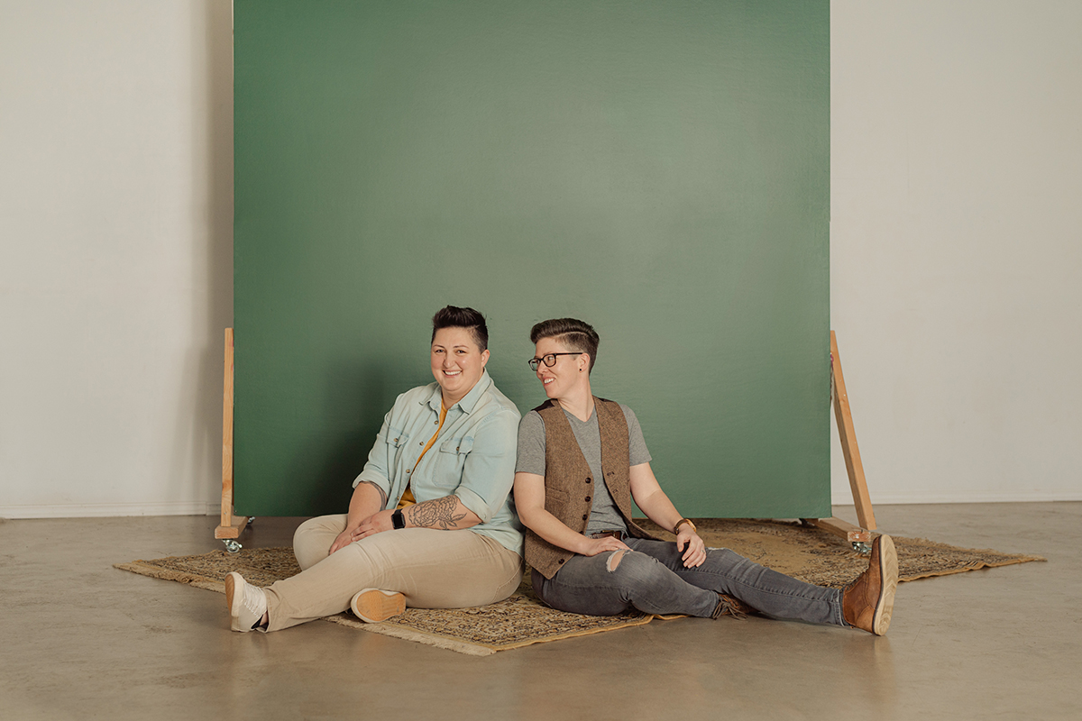 lgbtq-queer-lesbian-studio-engagement-session-seattle-photographer