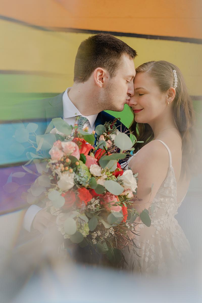 small-elopement-tulsa-oklahoma-downtown-rainbow-colorful-vibrant-spring-wedding-seattle-photographer