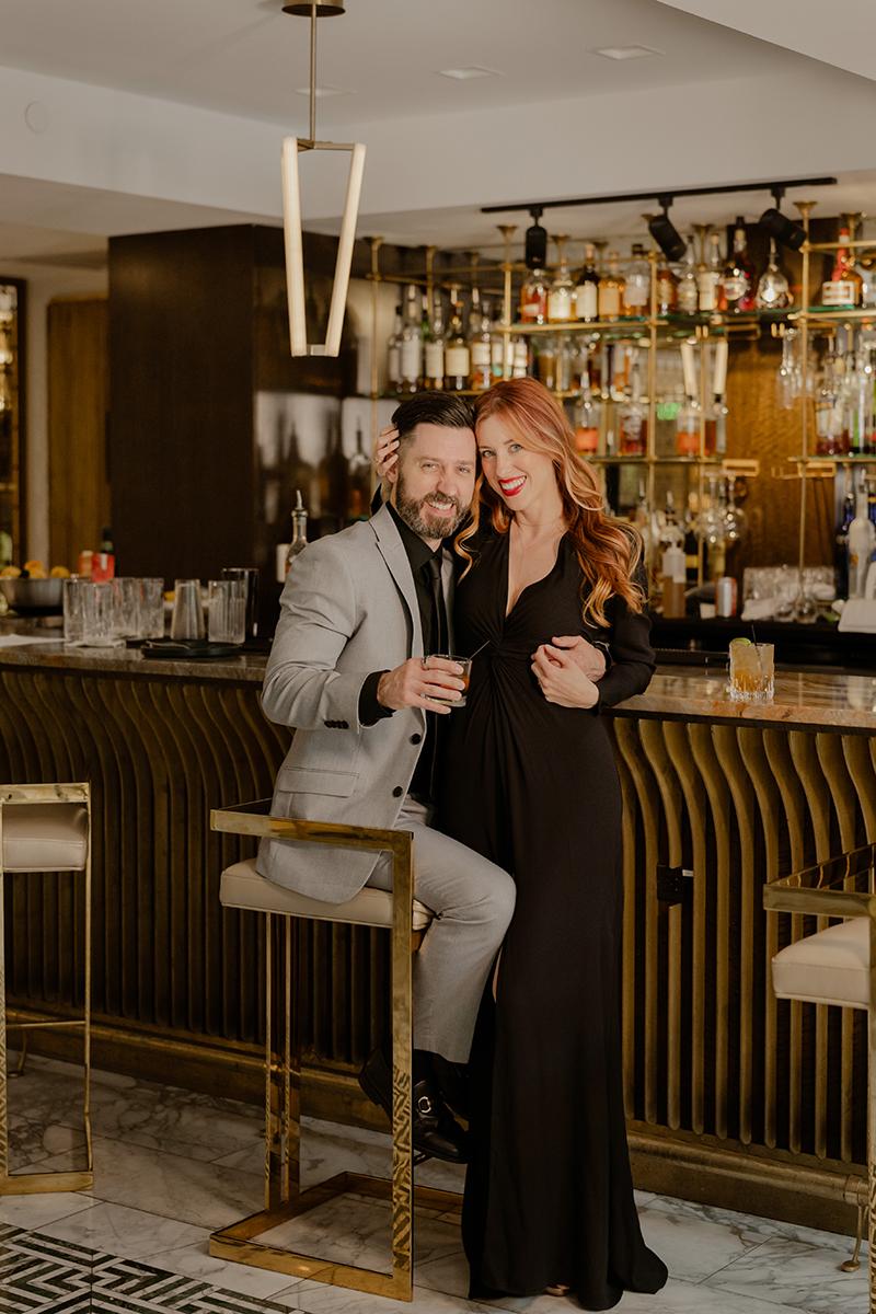 Tulsa-Club-Hotel-Engagement-photos-Couple-Session-Bar-Art-Deco-Aesthetic-Seattle-Photographer
