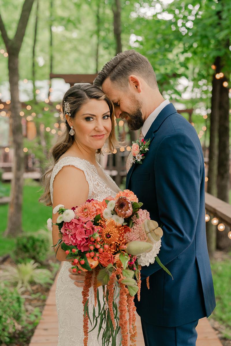 colorful-whimsical-romantic-wedding-elopement-photographer-seattle-pink-orange-peach-color-palette